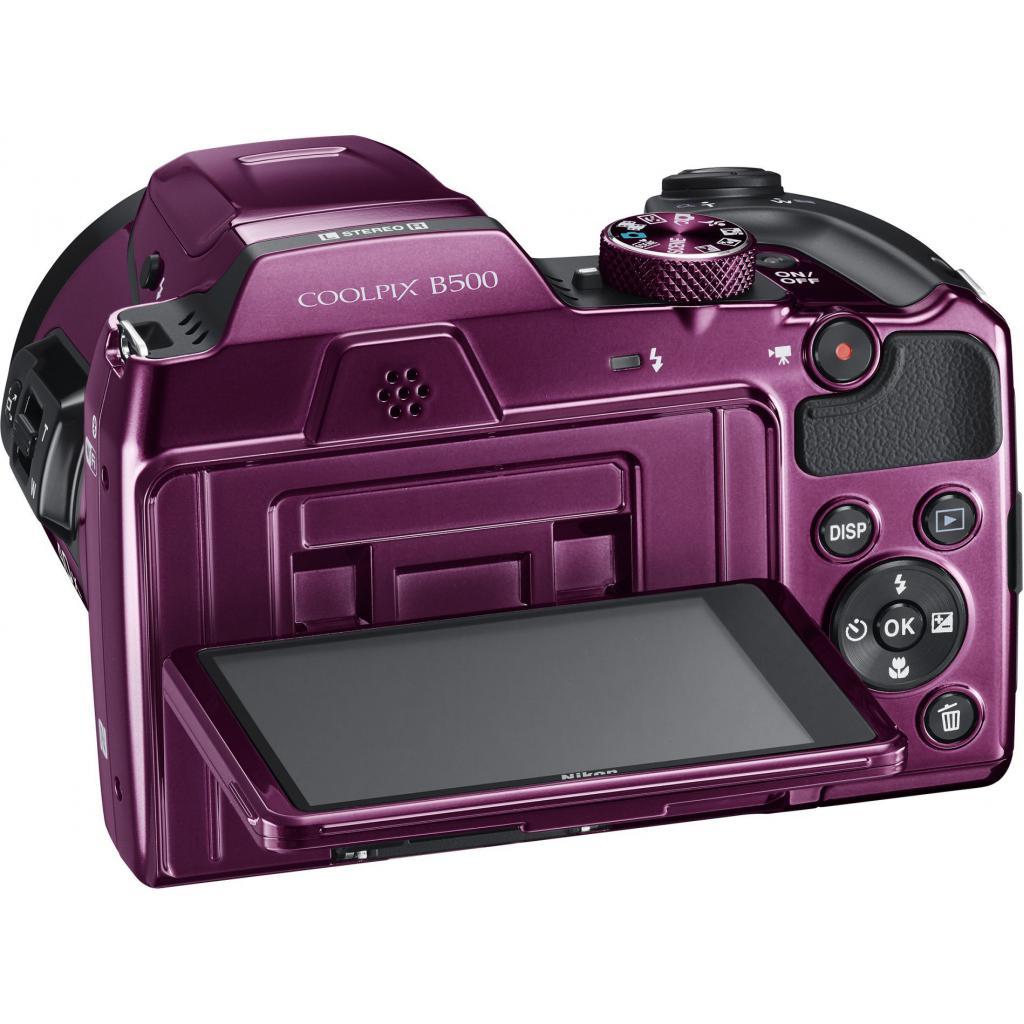 Цифровой фотоаппарат Nikon Coolpix B500 Purple (VNA952E1)
