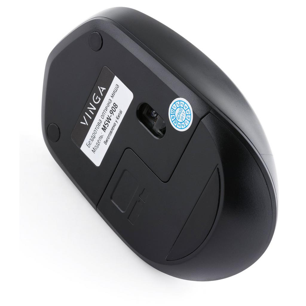 Мышка Vinga MSW-908 Silent Click grey