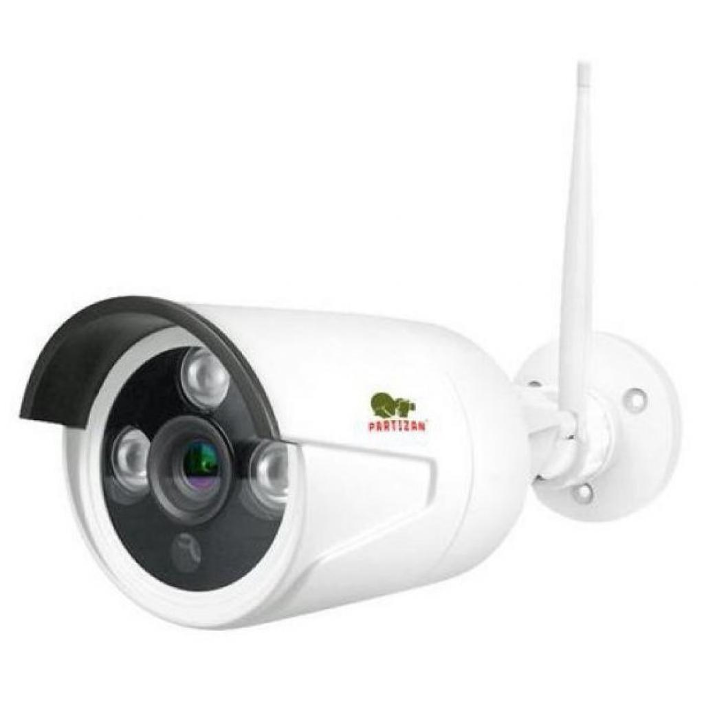 Комплект видеонаблюдения Partizan Outdoor Wireless Kit LCD 1MP 2xIP (81439)