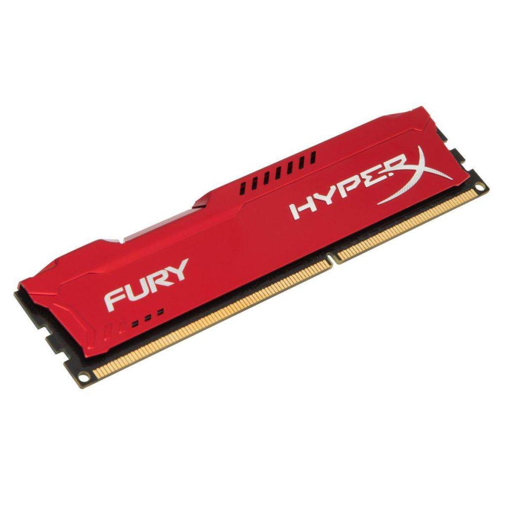 Модуль памяти для компьютера DDR4 16GB 2133 MHz HyperX FURY Red Kingston (HX421C14FR/16)