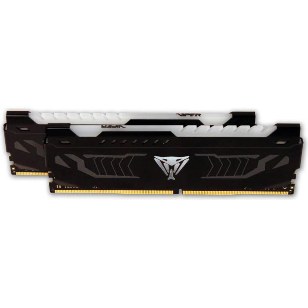 Модуль памяти для компьютера DDR4 16GB (2x8GB) 2666 MHz LED SERIES RED Patriot (PVLR416G266C5K)