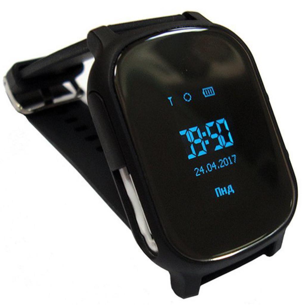 Смарт-часы GoGPS ME К20 чорний (К20ЧР)