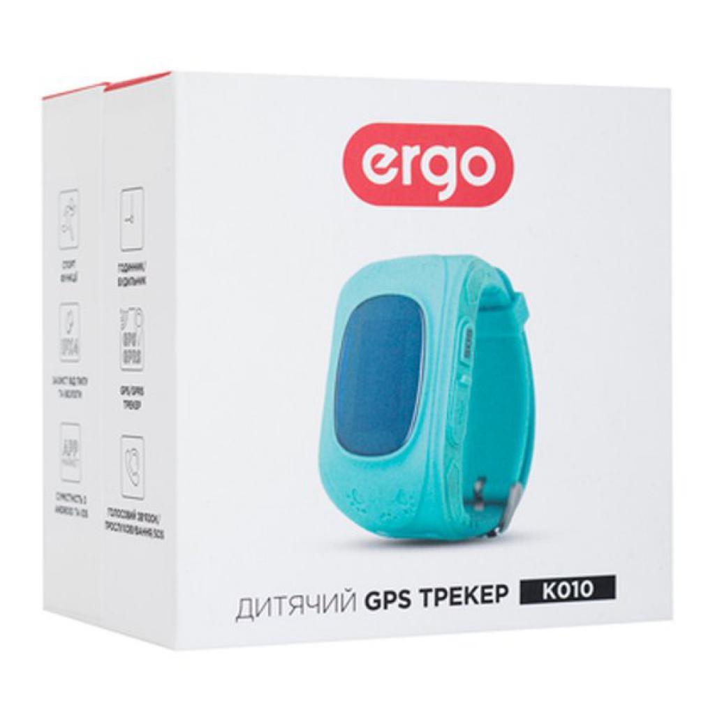 Смарт-часы Ergo з GPS трекером Ergo Kid`s K010 Blue (GPSK010B)