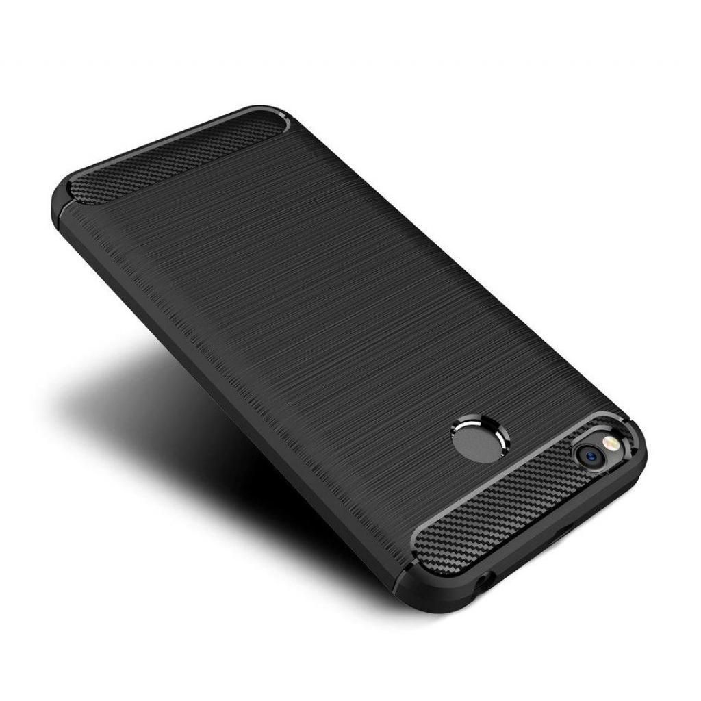 Чехол для моб. телефона для XiaomiRedmi4X Carbon Fiber (Black) Laudtec (LT-R4XB)