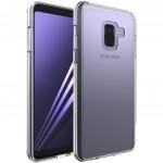 Чехол для моб. телефона для SAMSUNG GalaxyA8 2018 Clear TPU (Transperent) Laudtec (LC-A73018B)