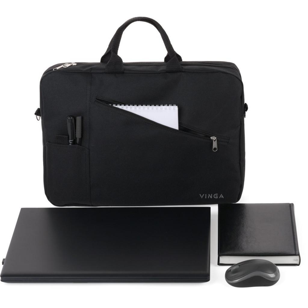 "Сумка для ноутбука Vinga 17"" NB320BK black (NB320BK)"