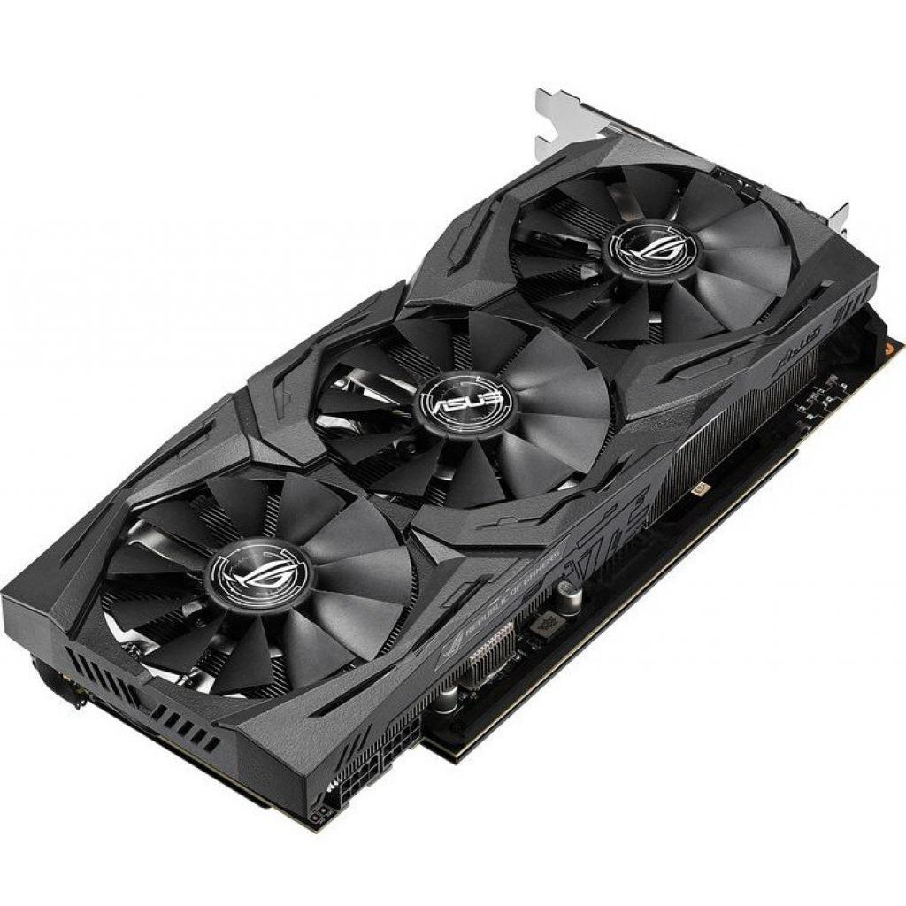 Видеокарта ASUS Radeon RX Vega 56 8192Mb ROG STRIX OC GAMING (ROG-STRIX-RXVEGA56-O8G-GAMING)
