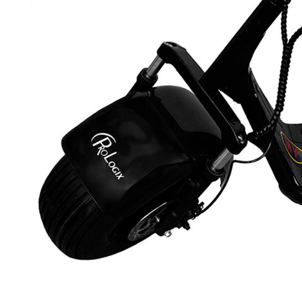 Электробайк PrologiX ES8004 800W black (ES8004-800-black)