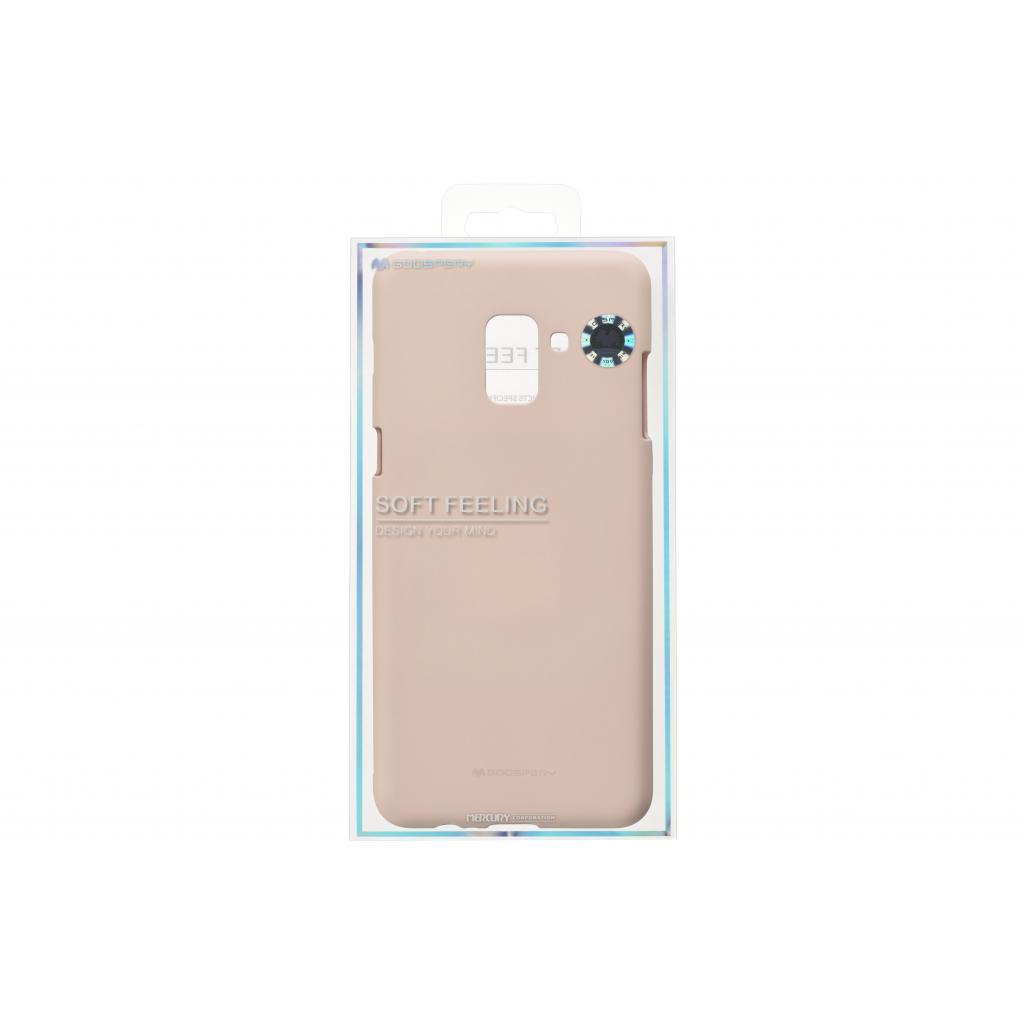 Чехол для моб. телефона Goospery для Samsung Galaxy A8+ (A730) SF Jelly Pink Sand (8809550413542)