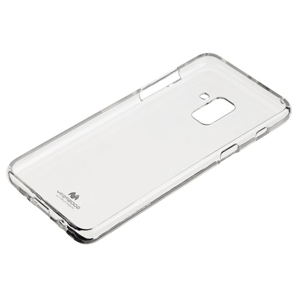 Чехол для моб. телефона Goospery Transparent Jelly для Samsung Galaxy A8 Plus A730 Transparen (8806174367961)