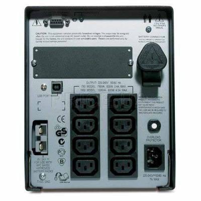 Источник бесперебойного питания Smart-UPS XL 1000VA APC (SUA1000XLI)
