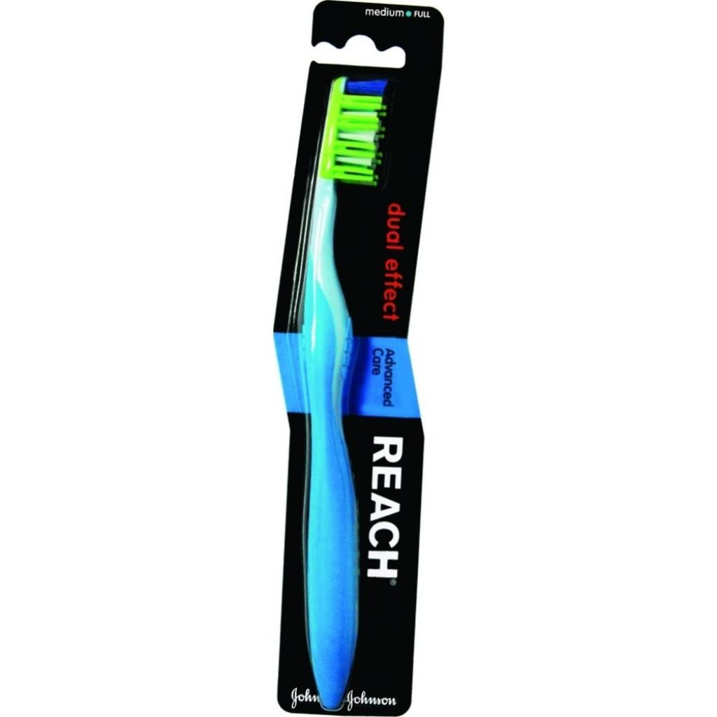 Зубная щетка Reach Dual Effect средняя (3574660483550)