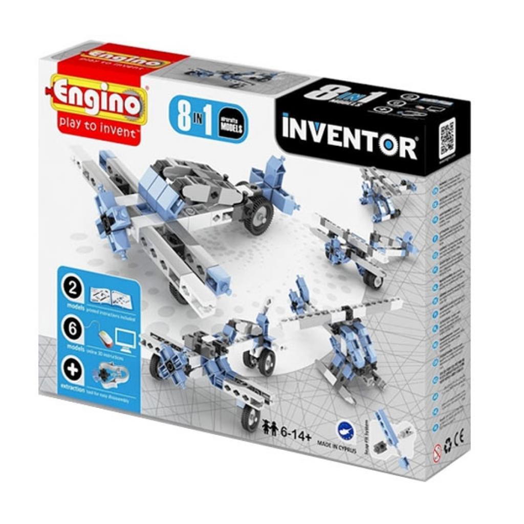 Конструктор Engino Inventor 8 в 1 Самолеты (833)