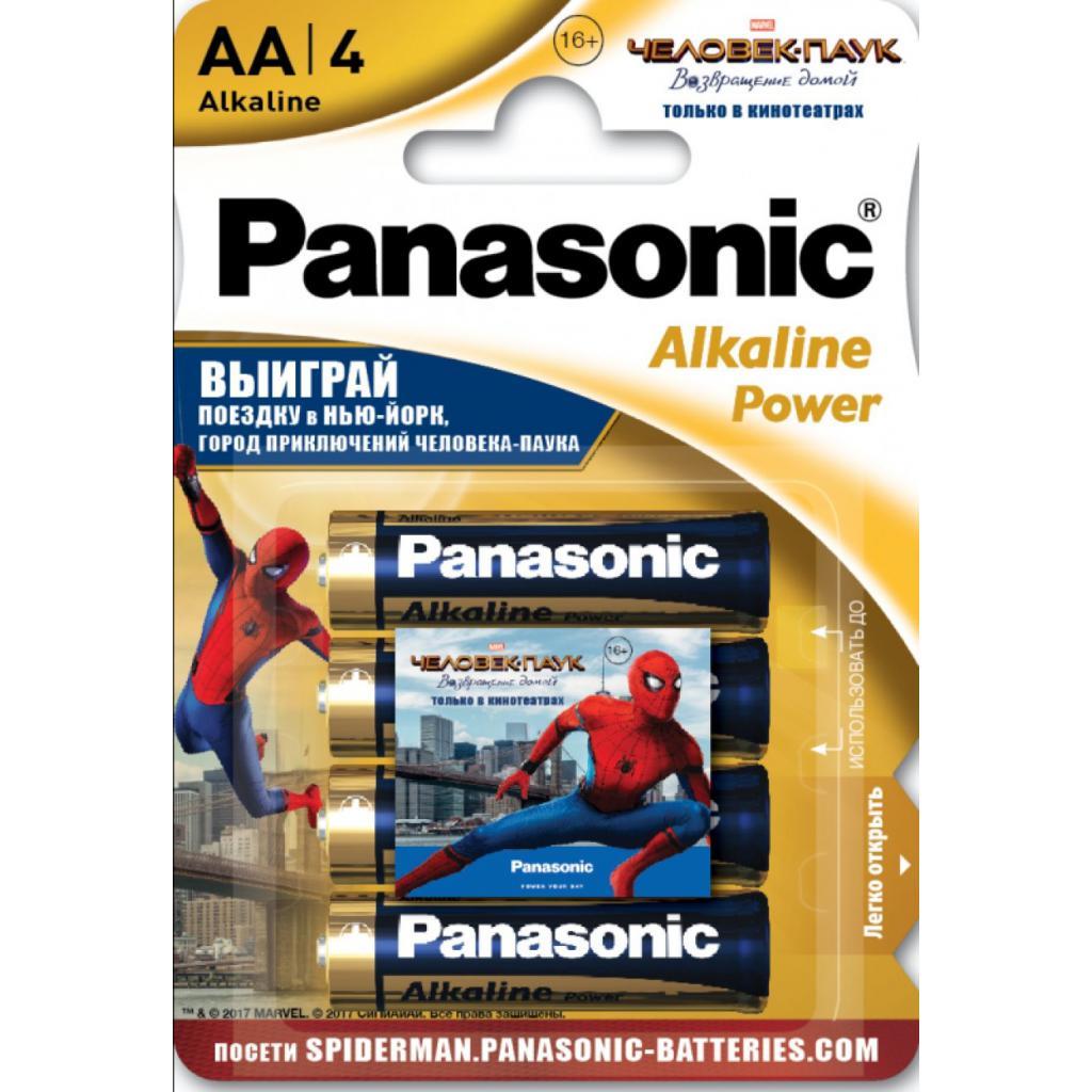 Батарейка PANASONIC LR06 Alkaline Power * 4 (LR6REB/4BPSSM)