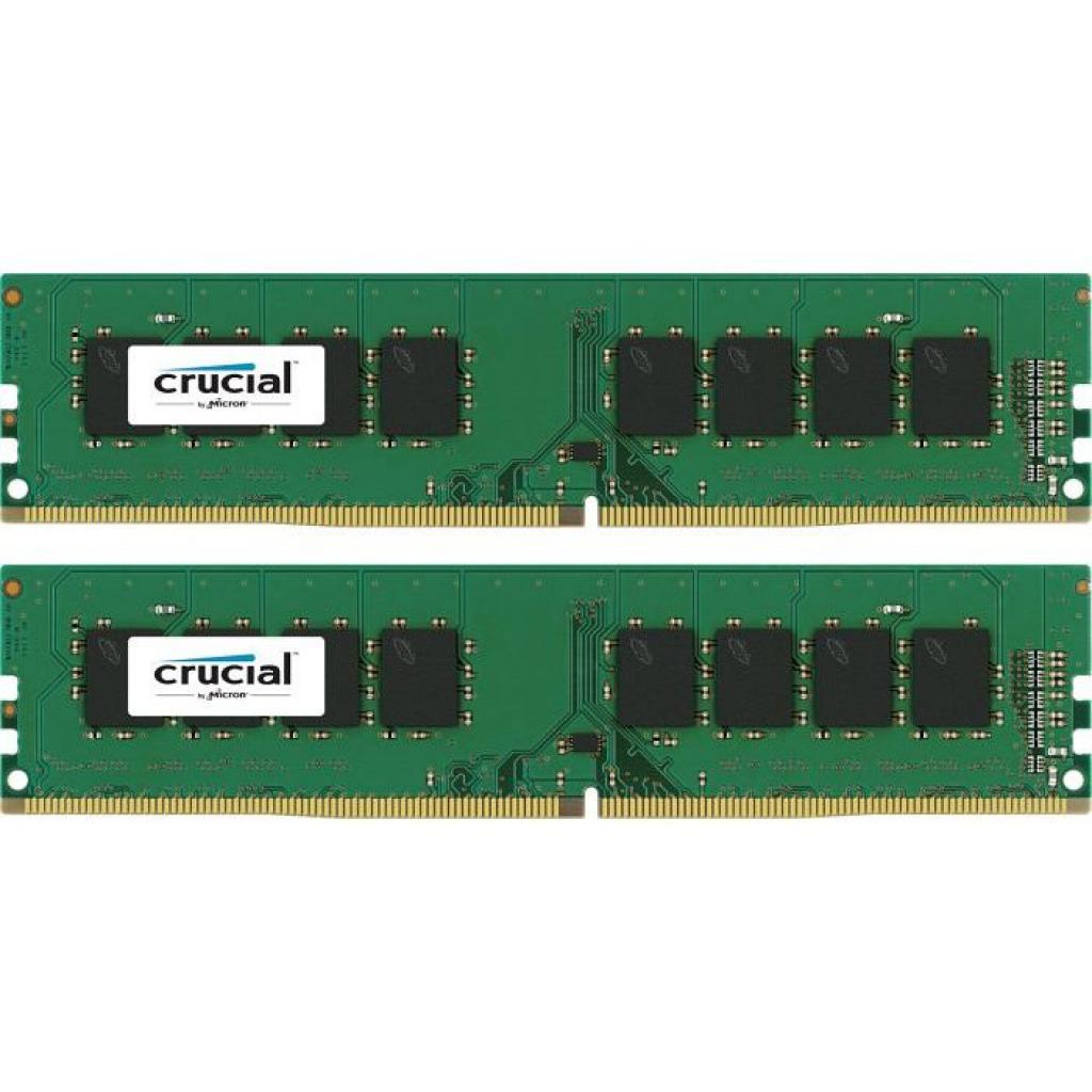 Модуль памяти для компьютера DDR4 16GB (2x8GB) 2400 MHz MICRON (CT2K8G4DFD824A)