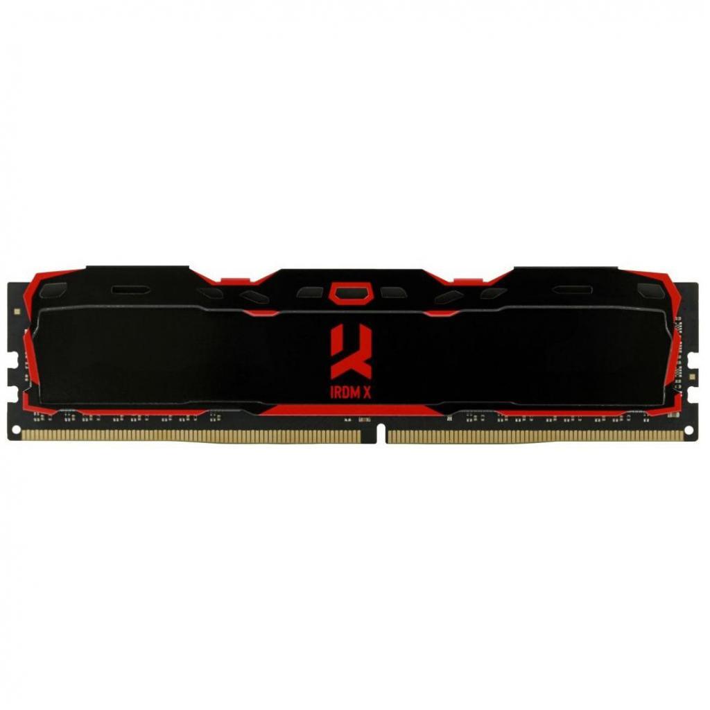 Модуль памяти для компьютера DDR4 8GB 3000 MHz Iridium X Black GOODRAM (IR-X3000D464L16S/8G)