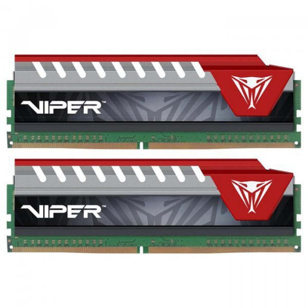 Модуль памяти для компьютера DDR4 16GB (2x8GB) 3733 MHz Viper Elite Patriot (PVE416G373C7KRD)