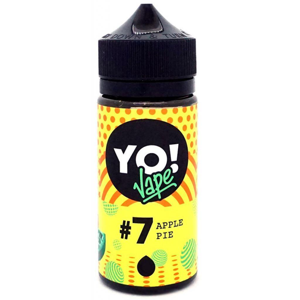 "Жидкость для электронных сигарет YO! Vape ""Apple Pie"" 0 мг 100 мл (YO-AP-100-0)"
