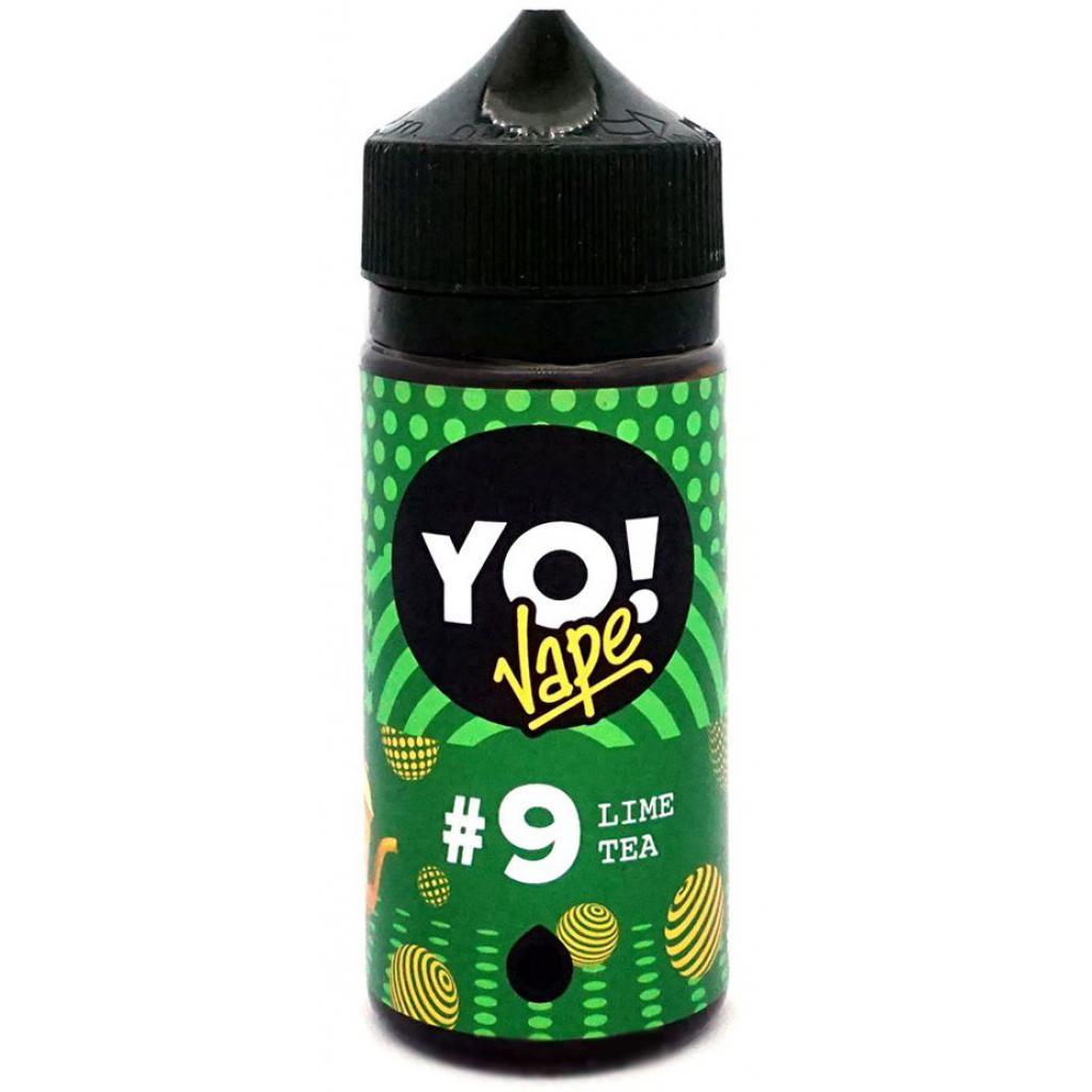 "Жидкость для электронных сигарет YO! Vape ""Lime Tea"" 3 мг 100 мл (YO-LT-100-3)"