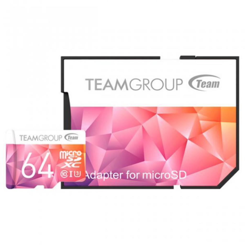 Карта памяти Team 64GB microSD UHS-I/U3 (TCIIUSXH64GU351)