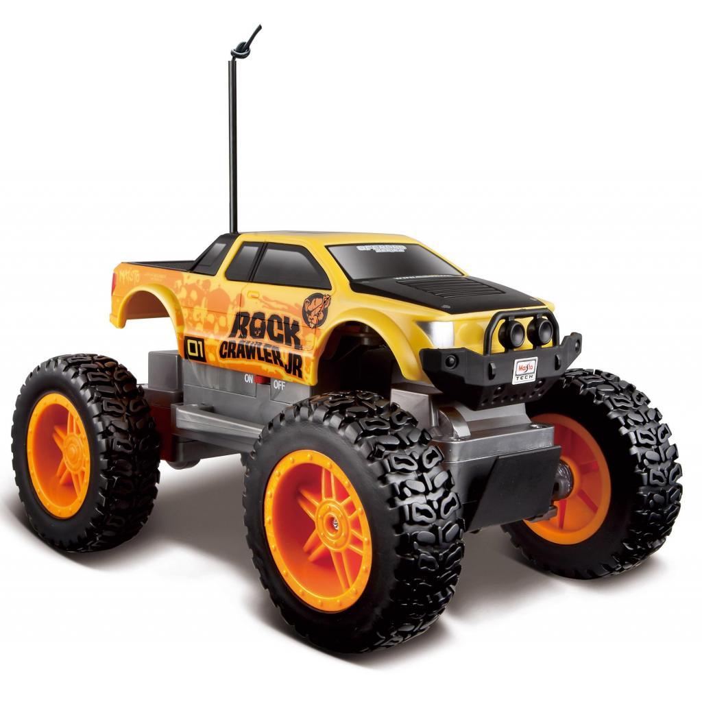 Автомобиль Maisto Rock Crawler Jr.жёлто-чёрный (81162 yellow/black)