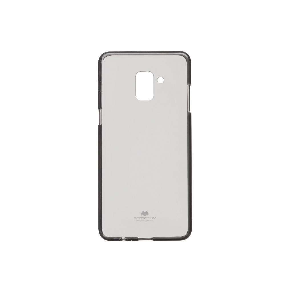 Чехол для моб. телефона Goospery Transparent Jelly для Samsung Galaxy A8 Plus A730 Black (8809621284477)