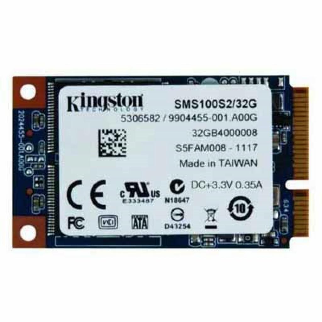 Накопитель SSD mSATA 32GB Kingston (SMS100S2/32G)