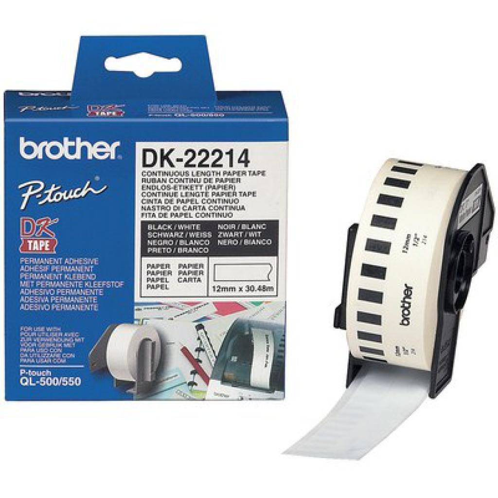 Картридж Brother QL-1060N/ QL-570 (12mm x 30.48M) (DK22214)