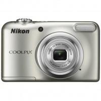 Цифровой фотоаппарат Nikon Coolpix A10 Silver (VNA980E1)