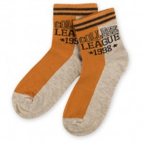 "Носки Bross ""College league "" бежевые (12212-3-5B-beige)"