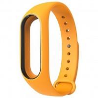 Ремешок для фитнес браслета Xiaomi Mi Band 2 Orange (Р27595)