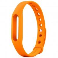 Ремешок для фитнес браслета Xiaomi Mi Band Orange (Р27768)