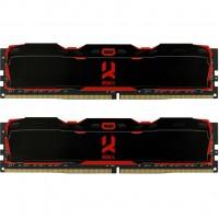 Модуль памяти для компьютера DDR4 16GB (2x8GB) 2800 MHz IRDM Black GOODRAM (IR-X2800D464L16S/16GDC)
