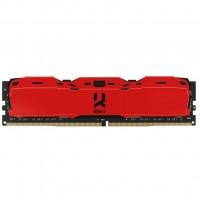 Модуль памяти для компьютера DDR4 8GB 3000 MHz IRDM Red GOODRAM (IR-XR3000D464L16S/8G)