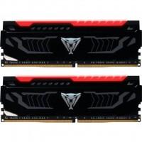 Модуль памяти для компьютера DDR4 16GB (2x8GB) 3000 MHz LED SERIES RED Patriot (PVLR416G300C5K)