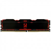 Модуль памяти для компьютера DDR4 8GB 2800 MHz Iridium X Black GOODRAM (IR-X2800D464L16S/8G)