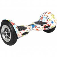 "Гироборд JUST Step&Go Raptor 10"" Graffity + сумка (SGLY-S10CBGF)"