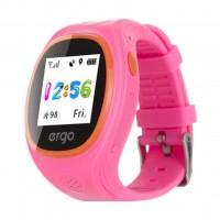 Смарт-часы Ergo з GPS трекером Ergo Junior Color J010 Pink (GPSJ010P)