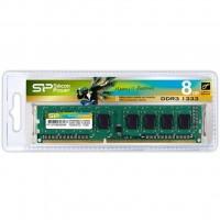 Модуль памяти для компьютера DDR3 8GB 1333 MHz Silicon Power (SP008GBLTU133N01 / SP008GBLTU133N02)