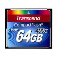 Карта памяти Transcend 64Gb Compact Flash 400x (TS64GCF400)