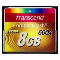Карта памяти Transcend 8Gb Compact Flash 600x (TS8GCF600)
