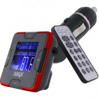 Автомобильный MP3-FM модулятор CUFM22GRX red SD/USB Grand-X (CUFM22GRX red)