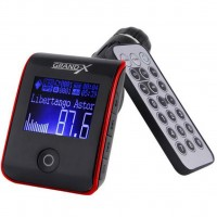 Автомобильный MP3-FM модулятор Grand-X CUFM24GRX red SD/USB (CUFM24GRX red)