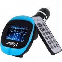 Автомобильный MP3-FM модулятор Grand-X CUFM25GRX blue SD/USB (CUFM25GRX blue)
