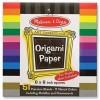 Набор для творчества Melissa&Doug Цветная бумага для оригами, 15,3х15,3 см (MD14129)