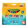 Набор для творчества Crayola 12 легко смываемых широких фломастеров (8325)