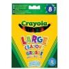Набор для творчества Crayola 8 больших смываемых восковых мелков (52-3282)