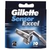 Сменные кассеты Gillette Sensor Excel 10 шт (3014260245832)