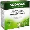 Таблетки для посудомоечных машин Sodasan 25 шт (4019886024259)