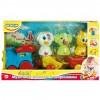 Музыкальная игрушка BeBeLino Паровозик с животными (57077-1)